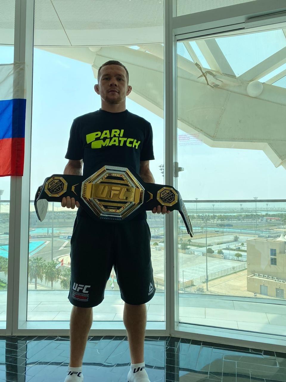 Пётр Ян – чемпион UFC